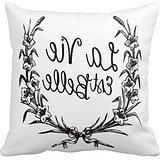 Pillow Cover, Pillow Perfect La Vie Est Belle Print Custom