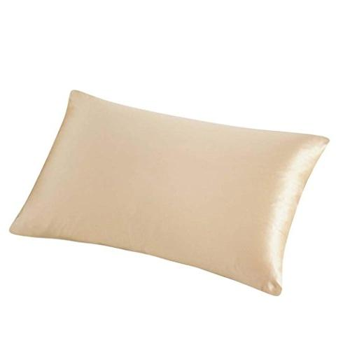 pillow cover silk rectangle throw pillow case