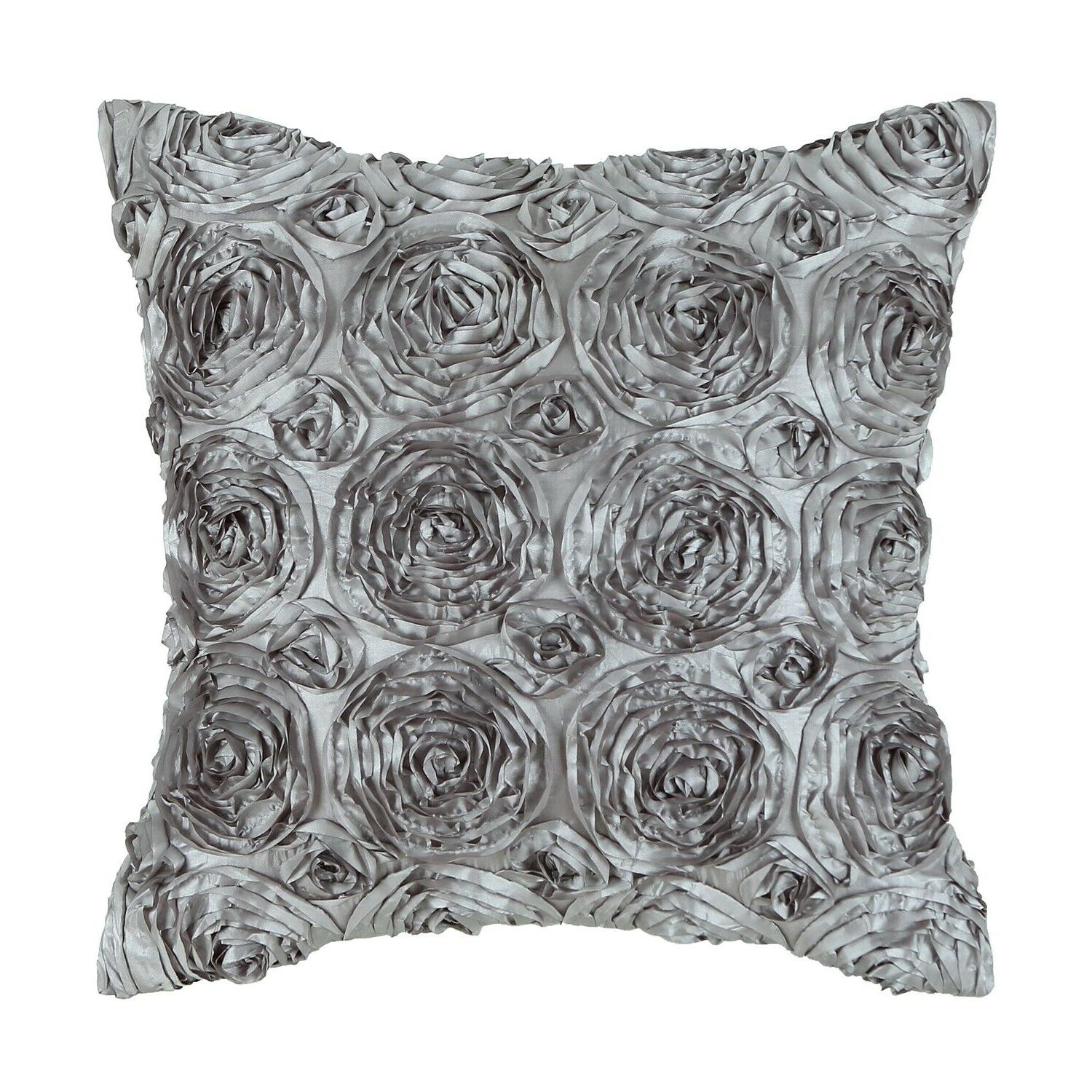 CaliTime Pillow Throw Cushion Covers Case Shell Solid Stereo