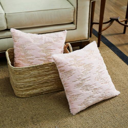 Throw Covers Pink Fur Soft Throw for Home