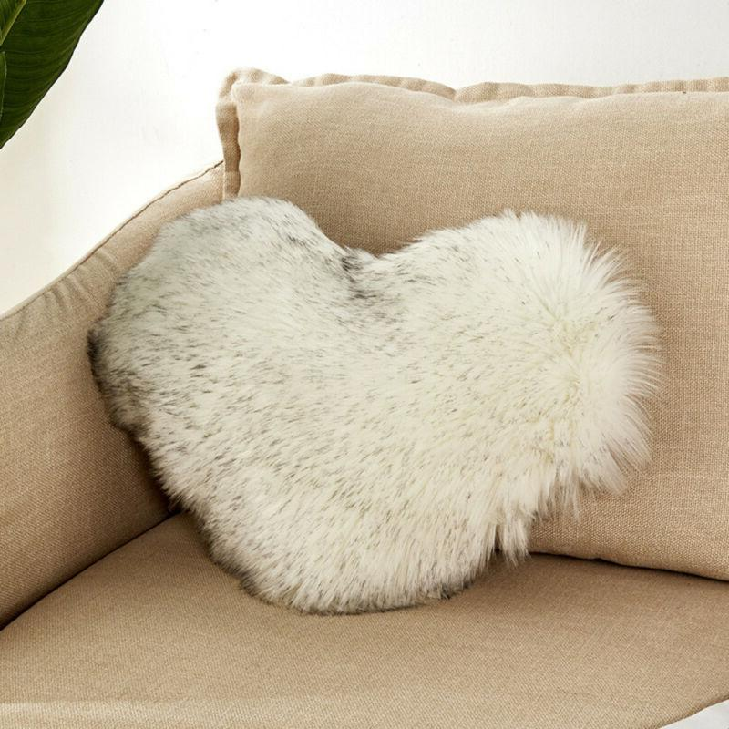 Plush Shaggy Cover Fluffy Pillow US