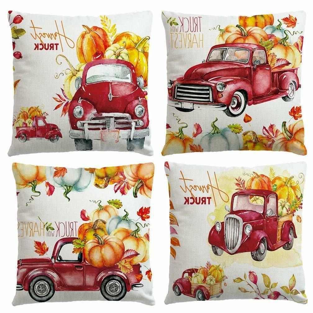 Red Throw Autumn Fall Pack New