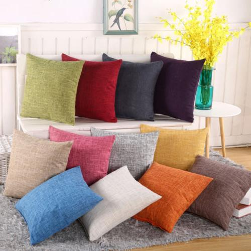 retro colorful throw waist pillow cases sofa