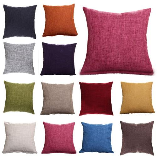Retro Pillow Cases Sofa Decor Outdoor Square