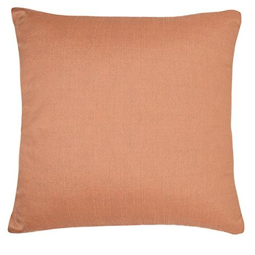 rose gold silk pillow covers