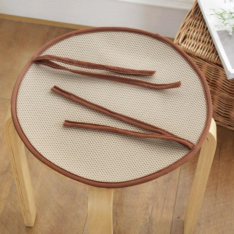Round Weave Rattan Chair For Chairs Style <font><b>Kitchen</b></font> Seat <font><b>Pillow</b></font> Almofadas Cojines