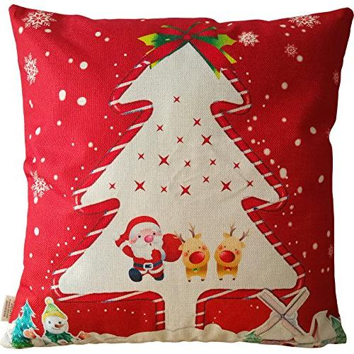 HOSL SD39 Merry Series Blend Linen Pillow Cover - 6