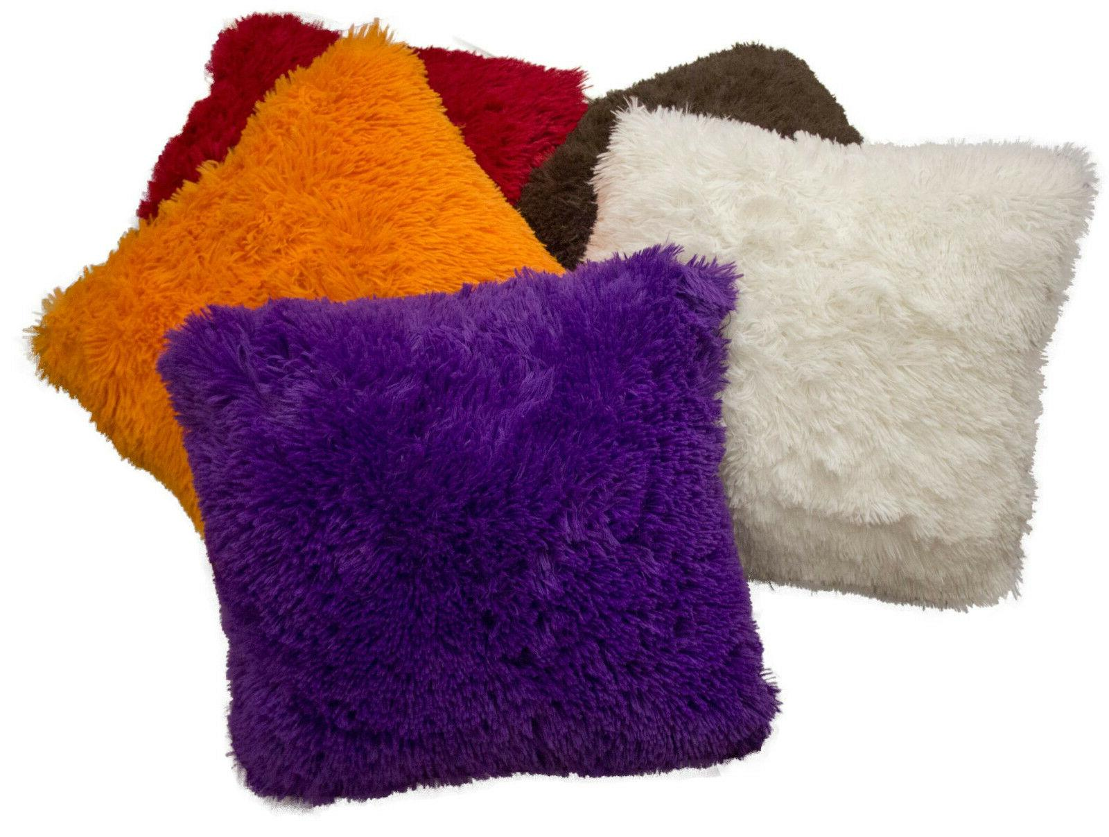 Shaggy Fur Pillows, Many
