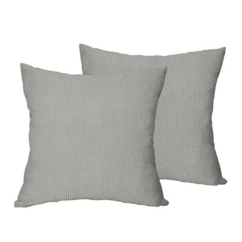 set of 2 square throw pillows covers