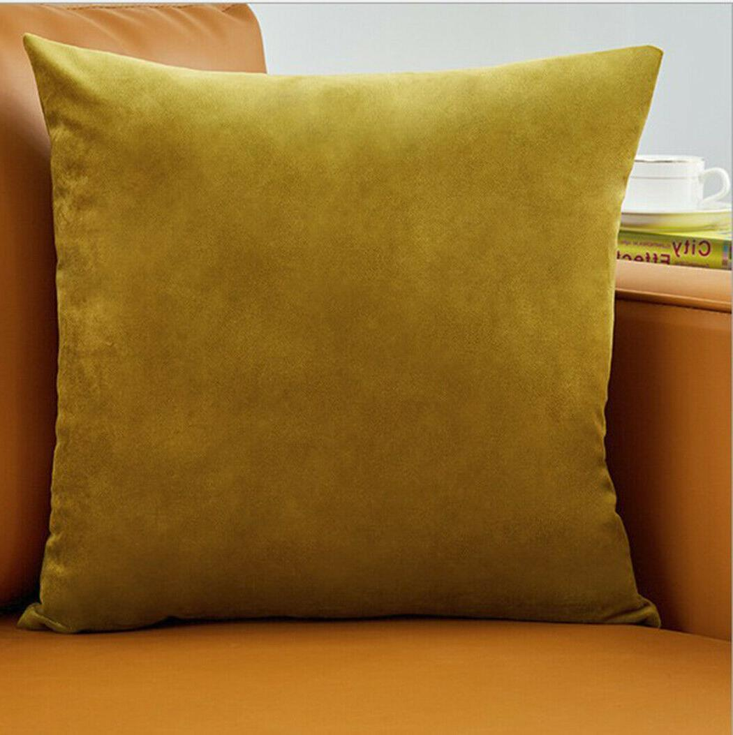 "Set Pillow Case 20"" solid colors"