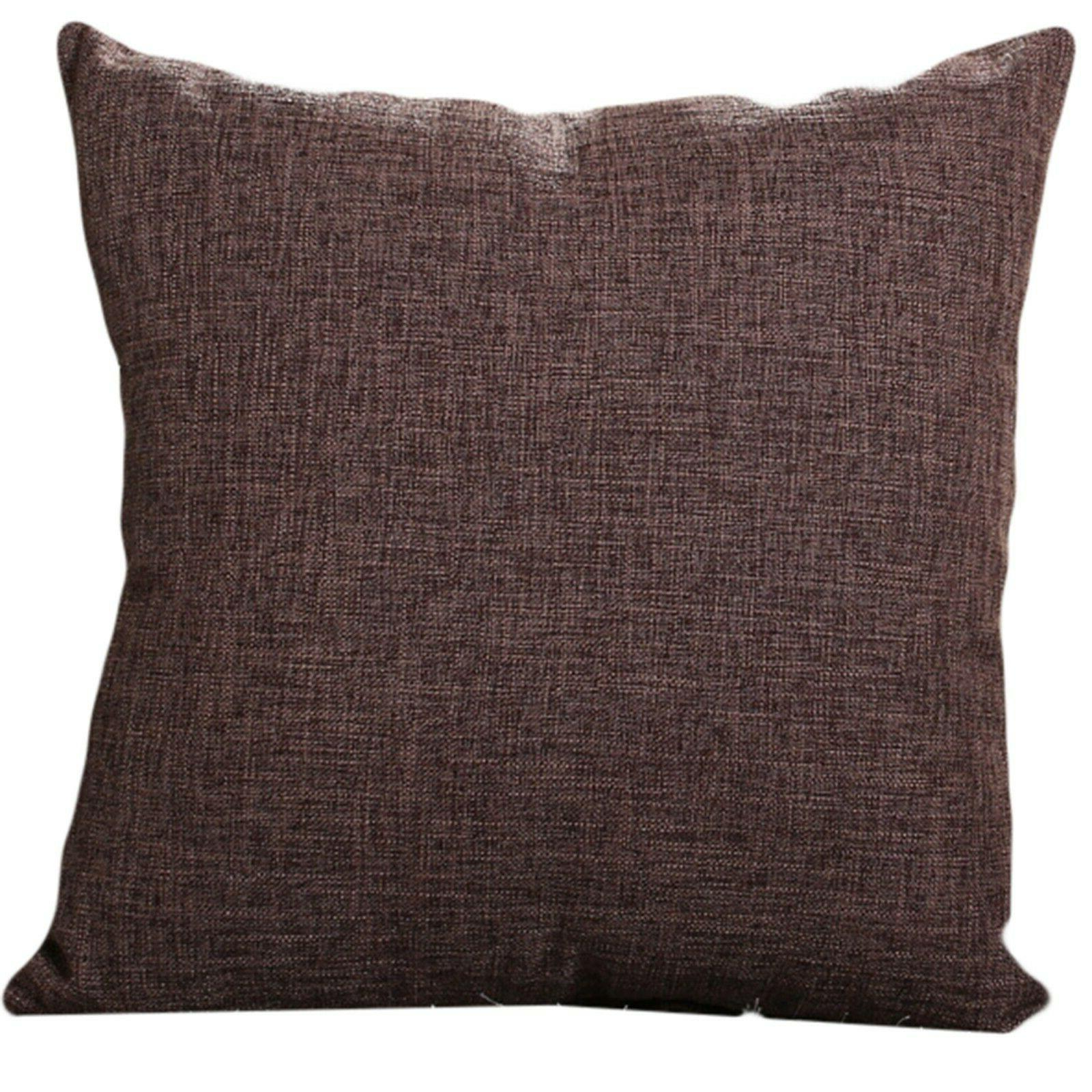 Set Of Throw Pillow Case Cushion Case solid colors