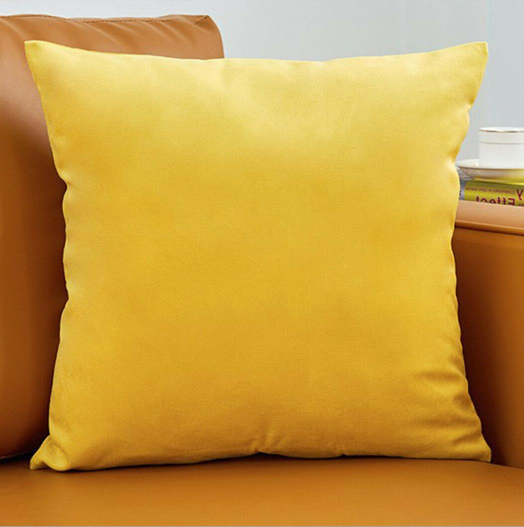 Set Of 2 Pillow Case solid colors