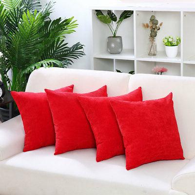 Set Waist Throw Pillow Cushion Covers Sofa Bed Decor
