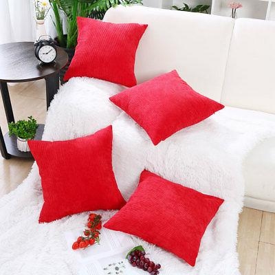 Set Waist Throw Cushion Bed Decor