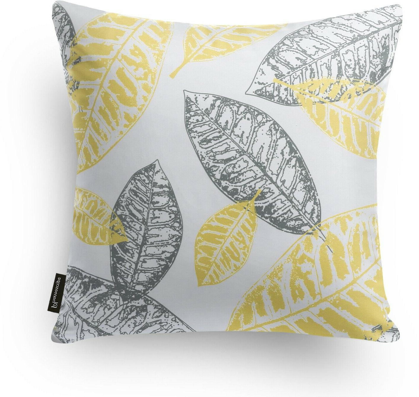 Phantoscope Set Of New Series Yellow And Grey Pillow C