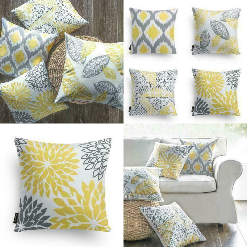 set of 4 new living series yellow