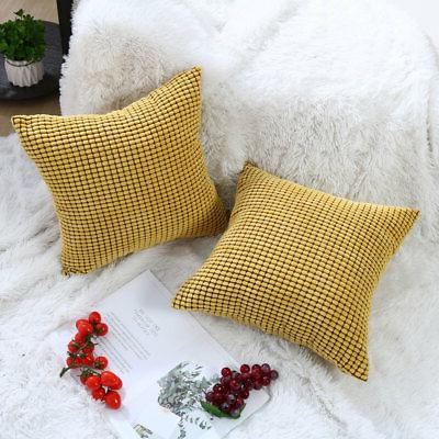 Sets of Pillowcase Fall Cushion Cover Case Home