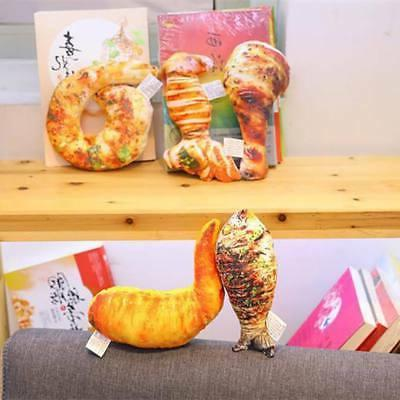 Simulational Stuffed Food Grilled Chicken Leg Shape Throw Pillow