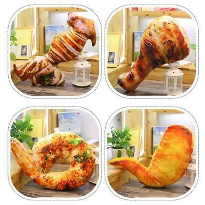Simulational Stuffed Chicken Shape Pillow Decor