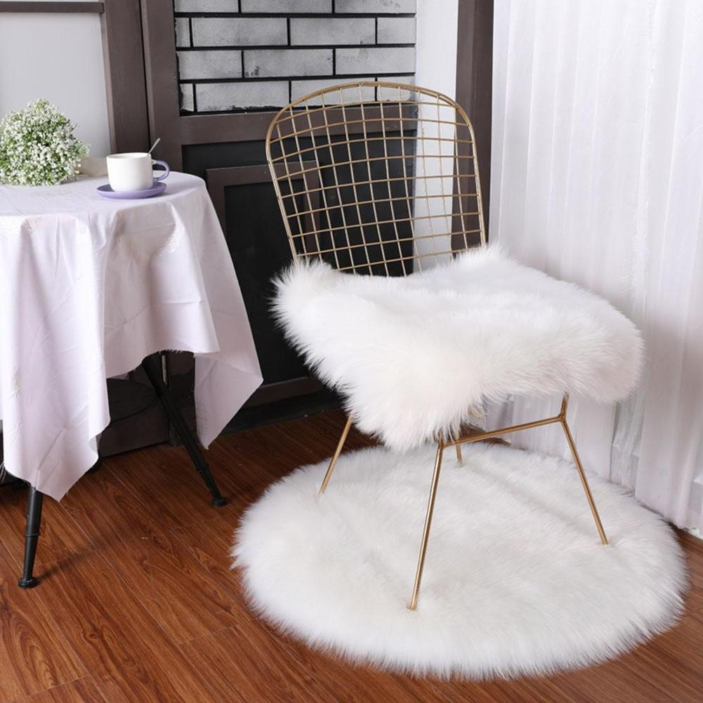Soft Faux Pillow Fluffy Sofa Cover Home Decor US