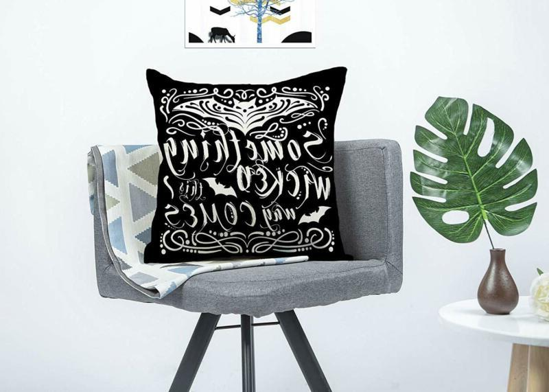 4TH Chalkboard Throw Cover