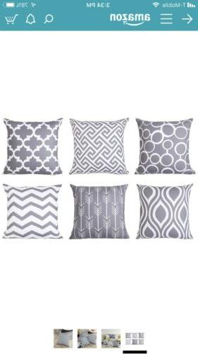 Top Square Cushion Covers Outdoor X