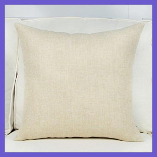 Top Square Throw Pillow Covers Cotton