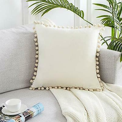 Top Cream Decorative Throw Pillow Covers 26