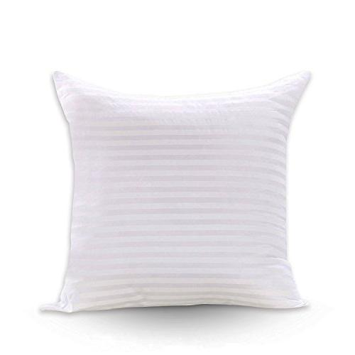 square pillow inserts poly white