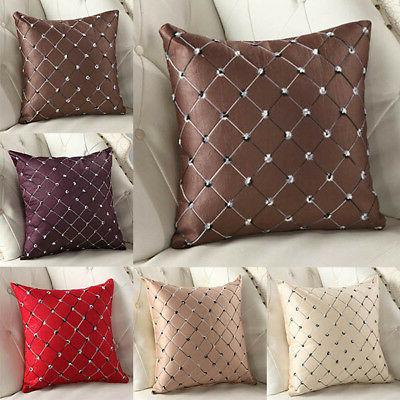Square Case Sofa Cushion Cover Home Bed 18x18