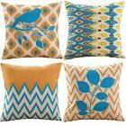 sykting Throw Pillow Covers Set of 4 Decorative Pillowcase 1