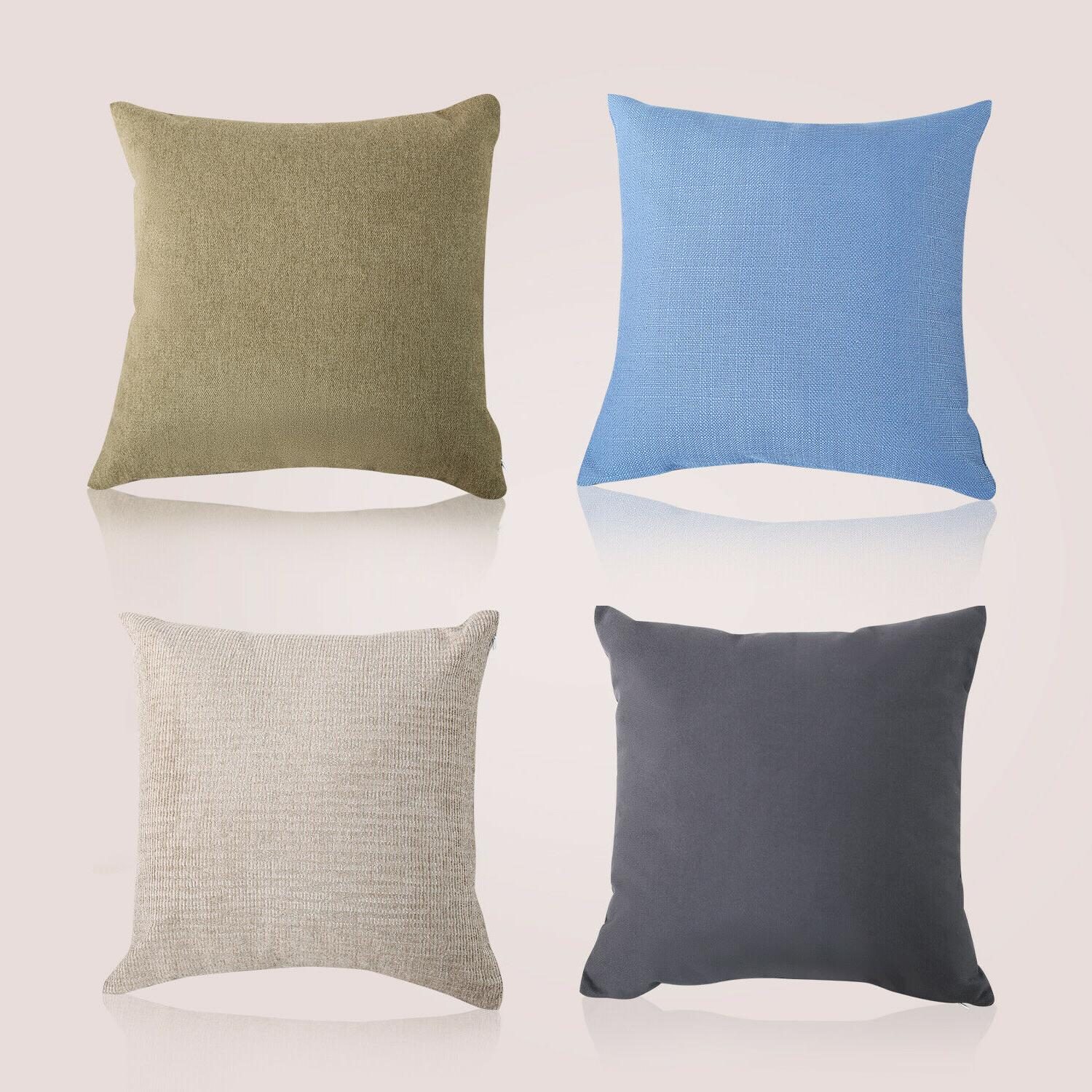 throw pillow cotton linen home decorative sofa