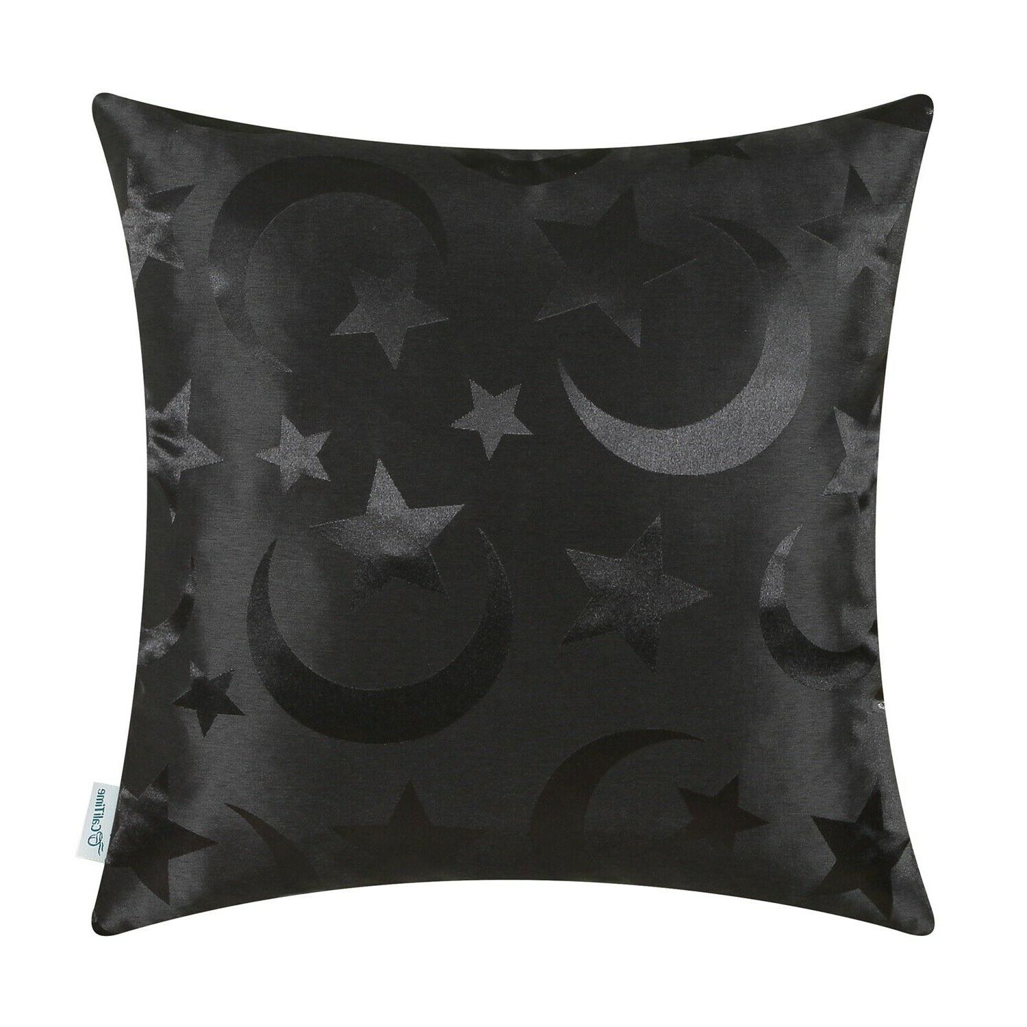 """CaliTime Throw Covers Cases Shell Home Stars Moon 18x18"""""""