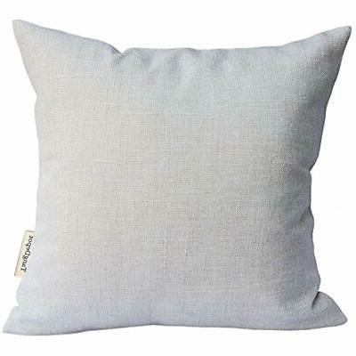 throw pillow covers heavy lined linen cushion