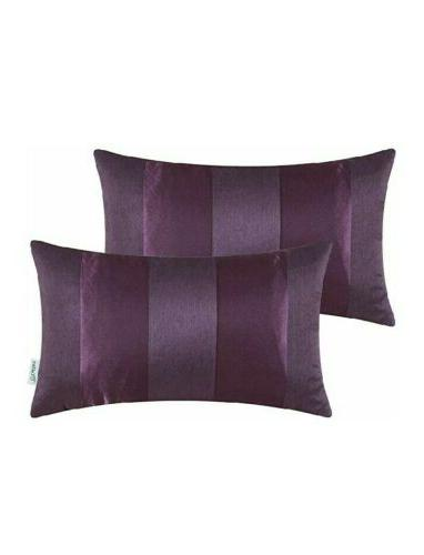 throw pillow cushion covers deep purple size