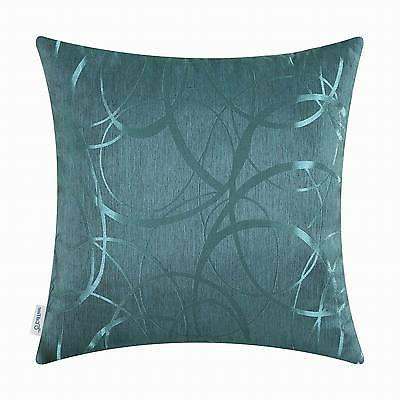 CaliTime Throw Pillows Covers Both Sides Modern Circles Ring