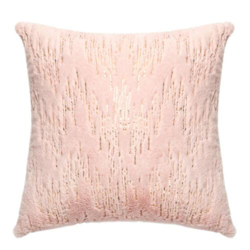 Throw Pillows Covers Fur With Soft Home