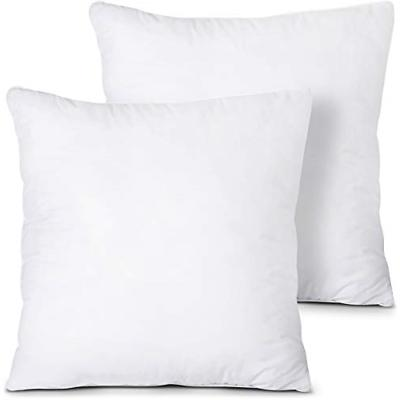 Utopia Bedding Throw Pillows Insert Pack of 2, White - 18 x