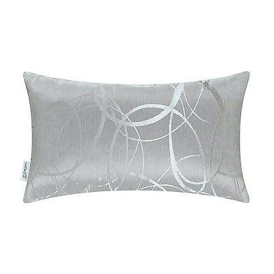 CaliTime Throw Pillows Shells Cushion Covers Modern Circles