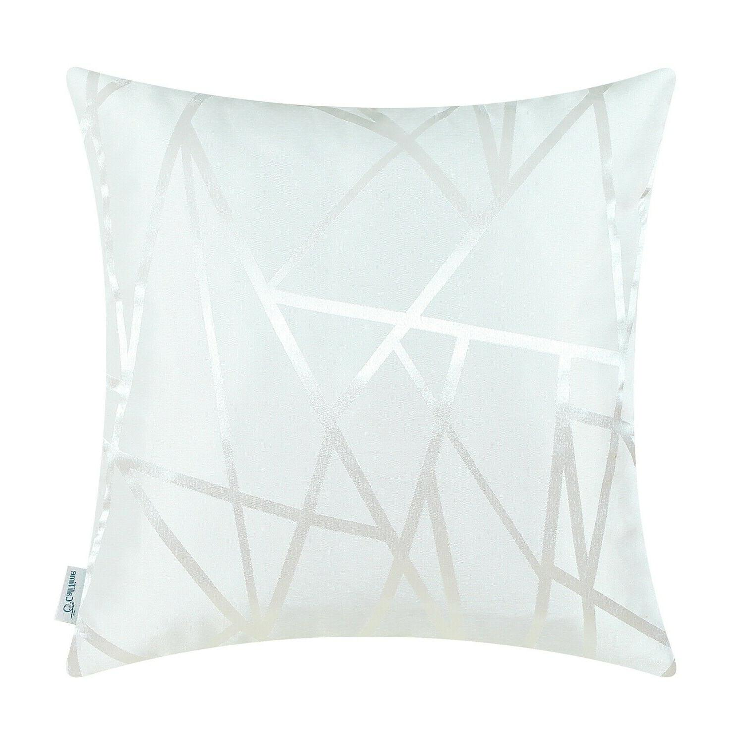 """CaliTime Lines Home Cushion Covers 18""""X18"""""""