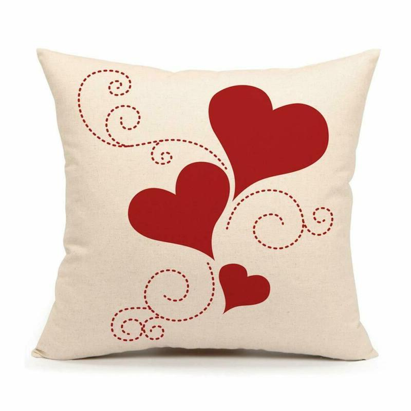 valentine s day throw pillow cover cushion