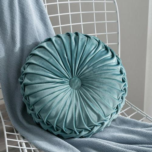 Pleated Pouf Throw Mat