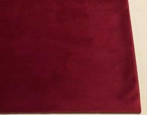 "Miulee Velvet Throw Cover 18""x Burgundy, NWOT"