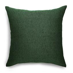 Solino Home Linen Pillow Cover – 20 x 20 Inch, 100% Europe