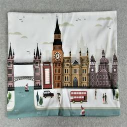 Ambesonne London Throw Pillow Cover Accent Decor