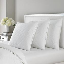 Luxurious Laura Ashley Quilted Ava Euro Pillow - Hypoallerge
