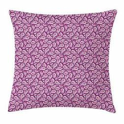 Magenta Throw Pillow Cases Cushion Covers Ambesonne Home Dec