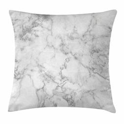 Ambesonne Marble Throw Pillow Cushion Cover, Nature Granite