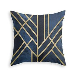 Society6 Art Deco Midnight Throw Pillow Indoor Cover  with p