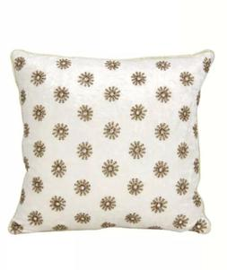Mina Victory by Nourison A0073 Ivory Decorative Pillow, 16""